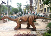 Playground Automatic Dinosaur Garden Ornaments With Mouth Open / Close