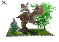 High Simulated Large Animatronic Dinosaur Ride Toys Lifesize / 5 - 6 Hours With Full Battery