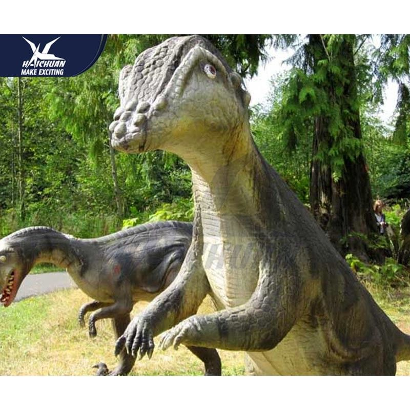 Customization Garden Dinosaur Statues For Shioping Mall  /  Dinosaur Yard Decorations