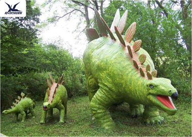 Jurassic Park Outdoor Resin Animal Statues, Artificial Robotic Moving Dinosaur Sculpture Park