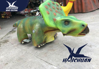 Cina Model Dinosaurus Realistis City Square / Stuffed Animal Ride On Toys pabrik